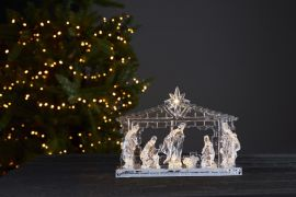Ice Inomhusdekoration krubba LED 30cm