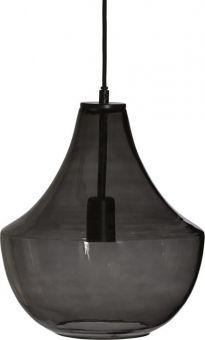 Hamilton Taklampa rökfärgat glas 30cm PR Home