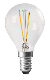 LED-lampa shine filament dimbar E14 2700K 4,5cm 2,8W