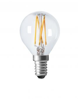 LED-lampa shine filament dimbar E14 2700K 4,5cm 4W