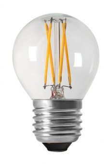LED-lampa shine filament dimbar E27 2700K 4,5cm 3,5W