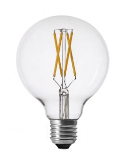 LED-lampa shine filament dimbar E27 2700K 9,5cm 4W
