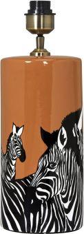 Zebra Lampfot orange 42cm