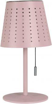 Halvar Solcellslampa USB rosa PR Home