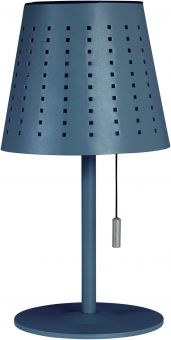 Halvar Solcellslampa USB blå PR Home