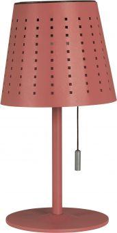Halvar Solcellslampa USB röd PR Home