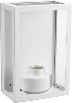 Kubba vägglampa vit 26cm