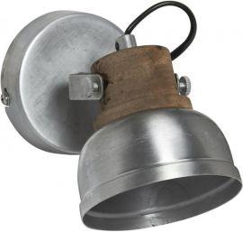 Rutland Vägglampa silver 10cm