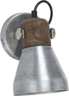Ashby sänglampa silver