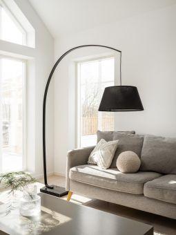 Arc Golvlampa svart 190cm