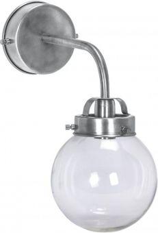 Normandy Vägglampa antiksilver 20cm