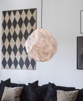 PR Home Alexis Fönsterlampa vinröd 15cm