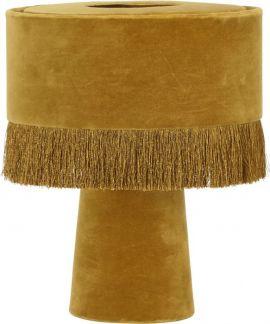 PR Home Alexis bordslampa guld sammet 31cm