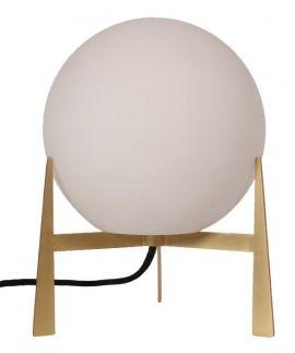 Milla bordslampa guld/opal 28cm