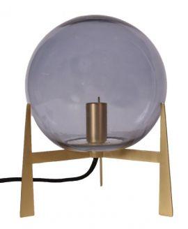 Milla Bordslampa guld/rök 28cm