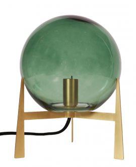Milla bordslampa guld/grön 28cm