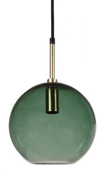 PR Home Milla fönsterlampa guld/grön 20cm