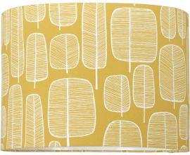 Takskärm Classic Cylinder Little Trees gul 35cm