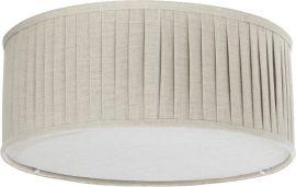 Plafond plissé beige 45cm