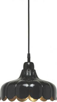 PR Home Wells Tak/Fönsterlampa svart/mässing 24cm