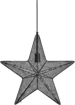 Orion Adventsstjärna svart 44cm
