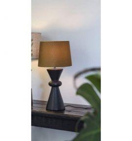 Patsy Lampfot svart 30cm