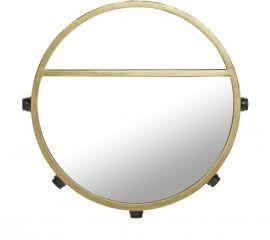 Bea Spegellampa 5L svart/guld 45cm