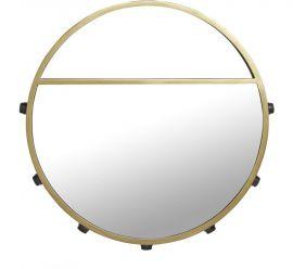 Bea Spegellampa 7L svart/guld 60cm