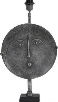 Mrs Round Lampfot grå 55cm