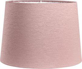 Sofia Lampskärm Sidenlook Glint rosa 20cm
