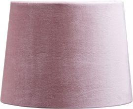 Sofia Lampskärm sammet rosa 25cm PR Home