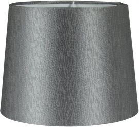 PR Home Sofia Lampskärm Sidenlook Glint grå 35cm