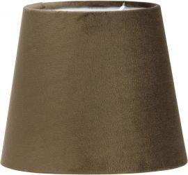 PR Home Lampskärm Mia Sammet brun 20cm