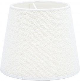 Mia Lampskärm Bouclette Blanc 20cm