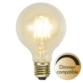 LED lampa Klar filament E27 Soft Glow