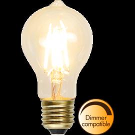 LED lampa filament E27 2200K 1,3W dimbar