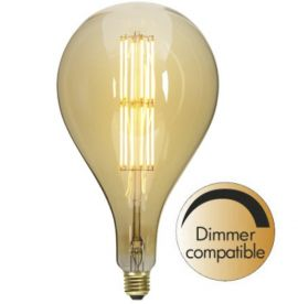 Decoration LED Lampa 165mm 10W E27 Dimbar