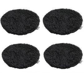 Seat 33 Black 4-pack
