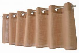 Arvidssons Textil Norrsken öljettkappa 55x240cm beige