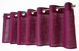 Arvidssons Textil Norrsken öljettkappa 55x240cm lila