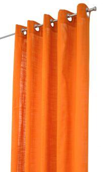 Arvidssons Textil Norrsken öljettlängd 140x240cm 1st orange
