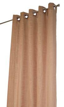 Arvidssons Textil Norrsken öljettlängd 140x240cm 1st beige