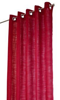 Arvidssons Textil Norrsken öljettlängd 140x240cm 1st röd