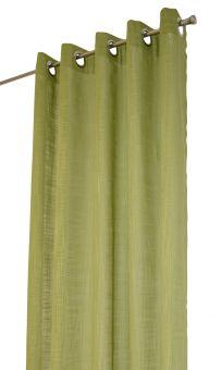 Arvidssons Textil Norrsken öljettlängd 140x240cm 1st grön