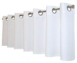 Arvidssons Textil Spektra öljettkappa 55x240cm vit