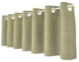 Arvidssons Textil Spektra öljettkappa 55x240cm grön