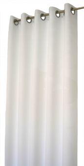 Arvidssons Textil Spektra 2st öljettlängder 140x240cm offwhite