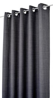 Arvidssons Textil Spektra 2st öljettlängder 140x240cm mörkgrå