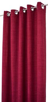 Arvidssons Textil Spektra 2st öljettlängder 140x240cm vinröd