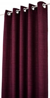 Arvidssons Textil Spektra 2st öljettlängder 140x240cm plommon